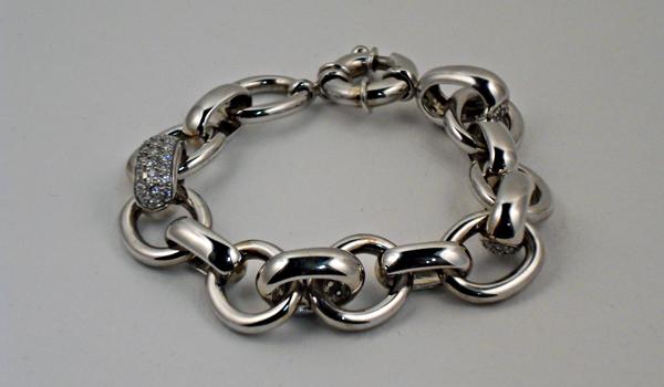 Bracelet «Forçats» Argent